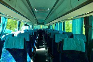 Autobusu noma, bus rent – SCANIA IRIZAR interior