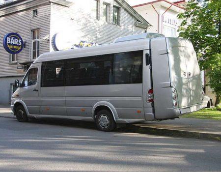 Autobusa noma, bus rent – Mercedes Benz  SPRINTER, ski/ luggage box