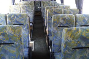 Autobusu noma, bus rent – DAF interior