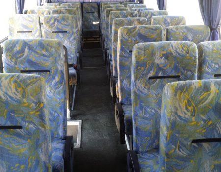 Autobusu noma, bus rent – DAF interior