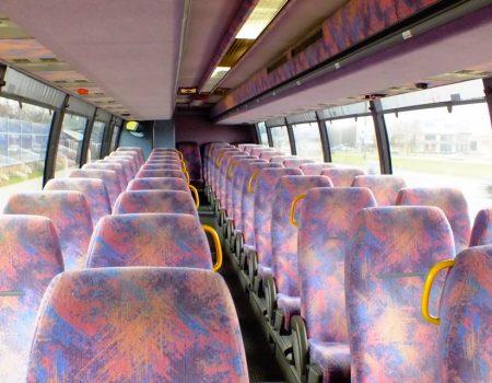 Autobusu noma, bus rent – VOLVO interior