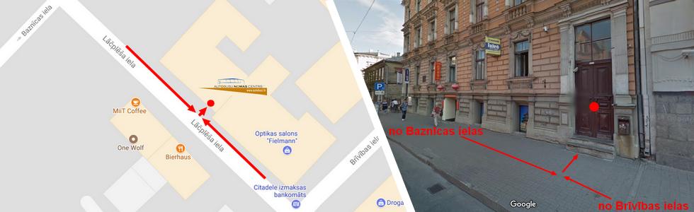 Autobusu nomas centrs Kā atrast?